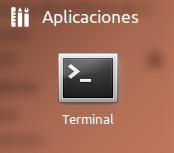 Icono Terminal Ubuntu