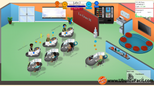 Tercera Oficina de Game Dev Tycoon en Ubuntu 13.04
