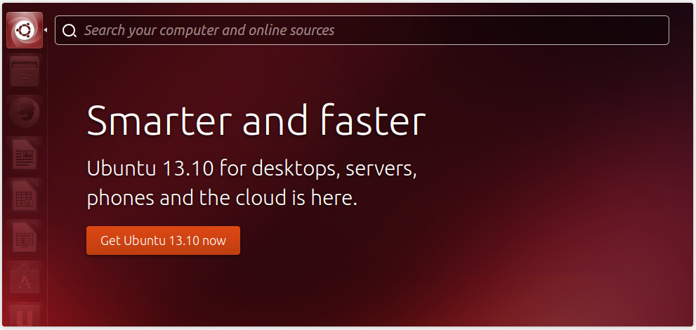 Ubuntu 13.10 Saucy salamander ya disponible