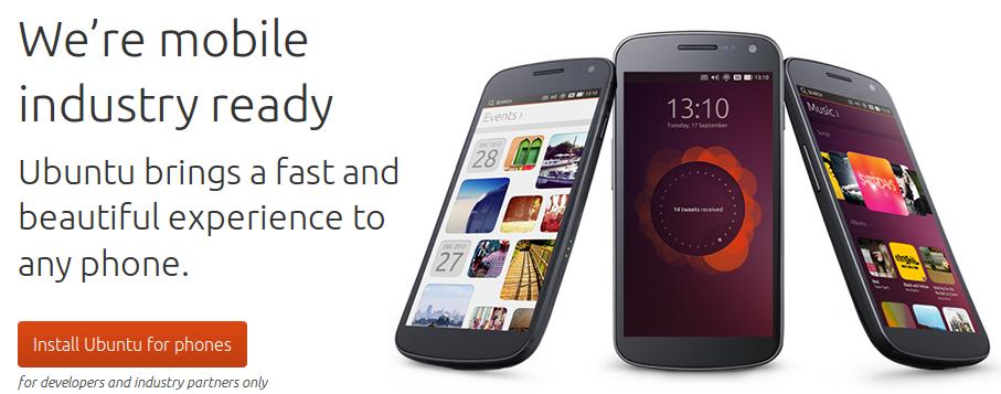 Ubuntu Phone ya disponible