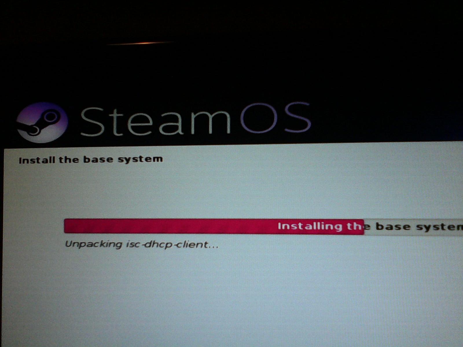 Instalación SteamOS