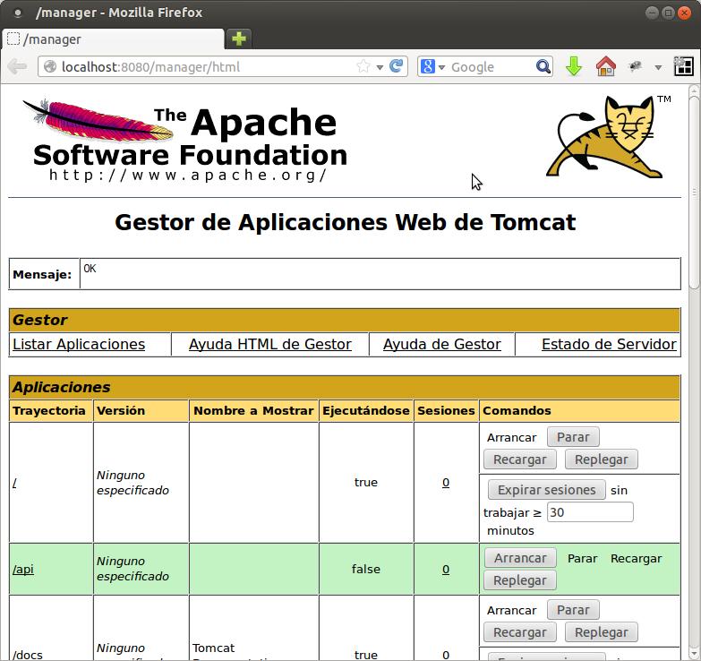 instalar servidor web en ubuntu: