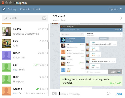 telegram-en-ubuntu